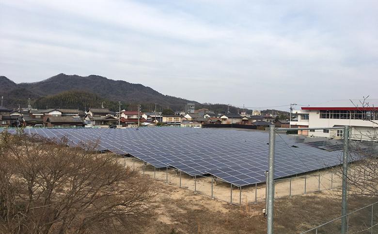 香川県太陽光発電所
